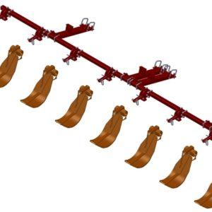 LANKOTA STALK STOMPER® MOUNTING KIT FOR CASEIH® 3208 AND 3408 SERIES 30″ CORN HEADS – 992-LANSS3408R8