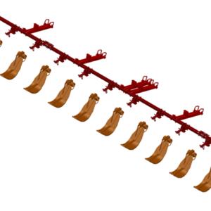 LANKOTA STALK STOMPER® MOUNTING KIT FOR CASEIH® 3212/3412 30″ SERIES CORN HEADS – 992-LANSS3412R12