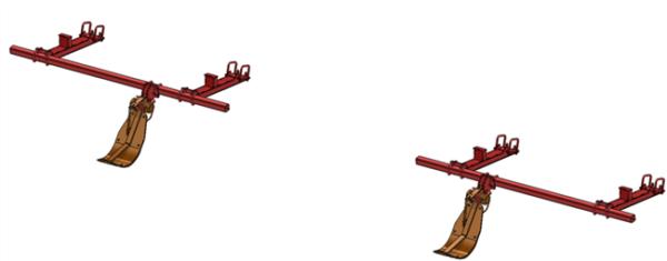 LANKOTA STALK STOMPER® MOUNTING KIT FOR CASEIH® 3212 AND 3412 SERIES 30″ CORN HEADS – 992-LANSS3412R2
