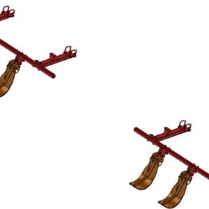 LANKOTA STALK STOMPER® MOUNTING KIT FOR CASEIH® 3212 AND 3412 SERIES 30″ CORN HEADS – 992-LANSS3412R4