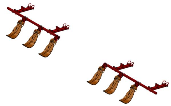 LANKOTA STALK STOMPER® MOUNTING KIT FOR CASEIH® 3212 AND 3412 SERIES 30″ CORN HEADS – 992-LANSS3412R6