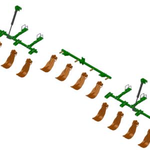 LANKOTA STALK STOMPER® HYDRAULIC MOUNTING KIT FOR JOHN DEERE® 612C SERIES 30″ CORN HEADS – 992-LANSS612R12HYD HomeOther PartsStalk StompersJohn DeereCorn Head