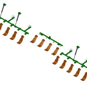 LANKOTA STALK STOMPER® HYDRAULIC MOUNTING KIT FOR JOHN DEERE® 616C SERIES 30″ CORN HEADS – 992-LANSS616R16HYD HomeOther PartsStalk StompersJohn DeereCorn Head