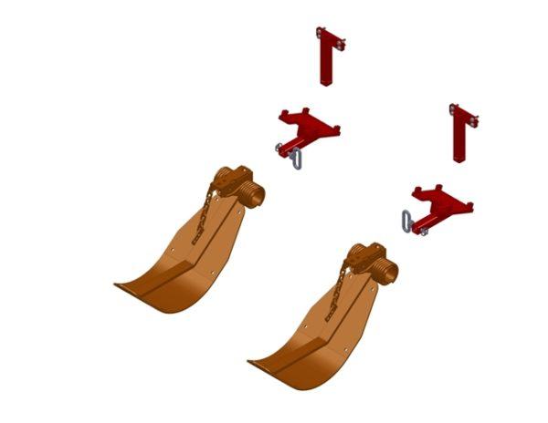 LANKOTA STALK STOMPER® MOUNTING KIT FOR CASE IH® 2200, 2400, 3200, AND 3400 SERIES CORN HEADS – 992-LANSSCIH20/30