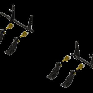 STALK STOMPER® MOUNTING KIT FOR DRAGO ® SERIES II, FOLDING 12 ROW, 30″ CORN HEADS (4 ROWS) – 992-LANSSDR1230R4F