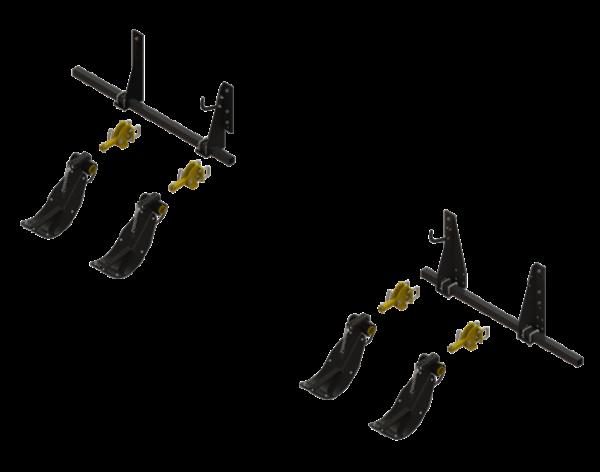 STALK STOMPER® MOUNTING KIT FOR DRAGO ® SERIES II, 8 ROW, 30″ CORN HEADS (4 ROWS) – 992-LANSSDR830R4