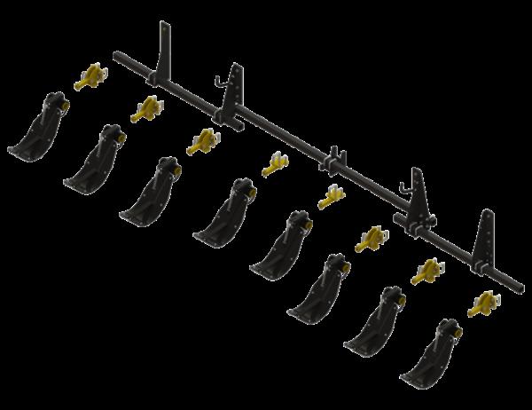 STALK STOMPER® MOUNTING KIT FOR DRAGO ® SERIES II, 8 ROW, 30″ CORN HEADS (8 ROWS) – 992-LANSSDR830R8
