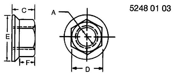 5/16″ FIBER LOCK NUT – H110730