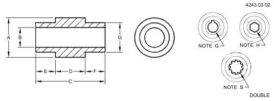 1.25″ AUGER SLIP CLUTCH HUB – H206763