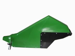 P3RF20-40A : POLY III 20″ RH FENDER ASSEMBLY, JD GREEN