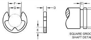 """END DRIVE """"E"""" CLIP – P46402"""